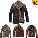 Shearling Jackets for Men CW138370 - cwmalls.com