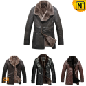 Shearling Coat for Men CW148480 - cwmalls.com