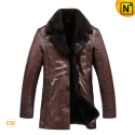 Mens Sheepskin Coat CW819466 - cwmalls.com
