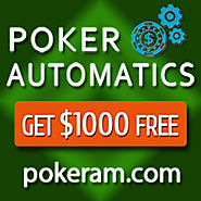 Poker Automatics. Get $1000 Free! Guaranteed Passive Income from Poker 24/7. No skills. No risk!