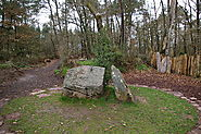Merlin's Tomb at Paimpont Forest