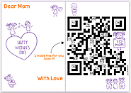 Mother's Day QR Code Math Activity with Gift Card