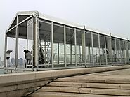 Double Decker Tent for Sailing Games in Qingdao