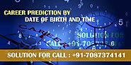 Free Career Prediction by Date of Birth and Time