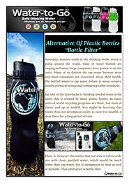 What is Bottle Filter?