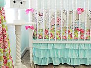 Turquoise Baby Girl Crib Bedding on Flipboard