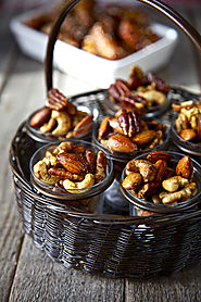 Indian Spiced and Roasted Nuts