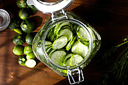 Fridge Dill Pickles