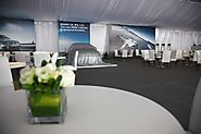 Clear Span Exhibition Marquee Tent