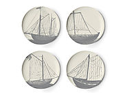 Maritime Dinner Plates by Thomas Paul