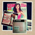 Domestic Violence and the Workplace: Cosmopolitan Magazine Says NO MORE to Domestic Violence