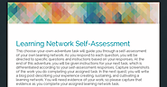 Personal Learning Network Self-Assessment