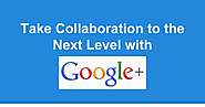 Collaboration via Google+