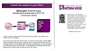 Unlock the content in your PDFs