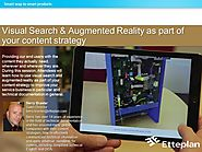 Visual Search & Augmented Reality as part of your content strategy
