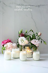 Make: DIY scented candles