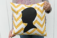 How to Sew an Appliqué Portrait Pillow Keepsake For Mom