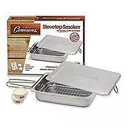 Stovetop Smoker - Stainless Steel Indoor Or Outdoor Smoker Works On Any Heat Source Powered by RebelMouse