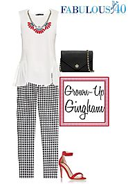 Gingham for Grown-Ups - Ways to Wear It