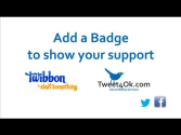 Use a Badge on Your Profile to Support Your Cause!