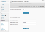 "WordPress › Widgets on Pages "" WordPress Plugins"