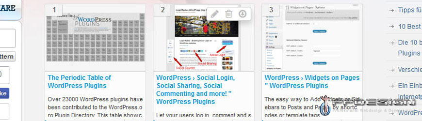 Headline for Top 100 WP-PlugIns