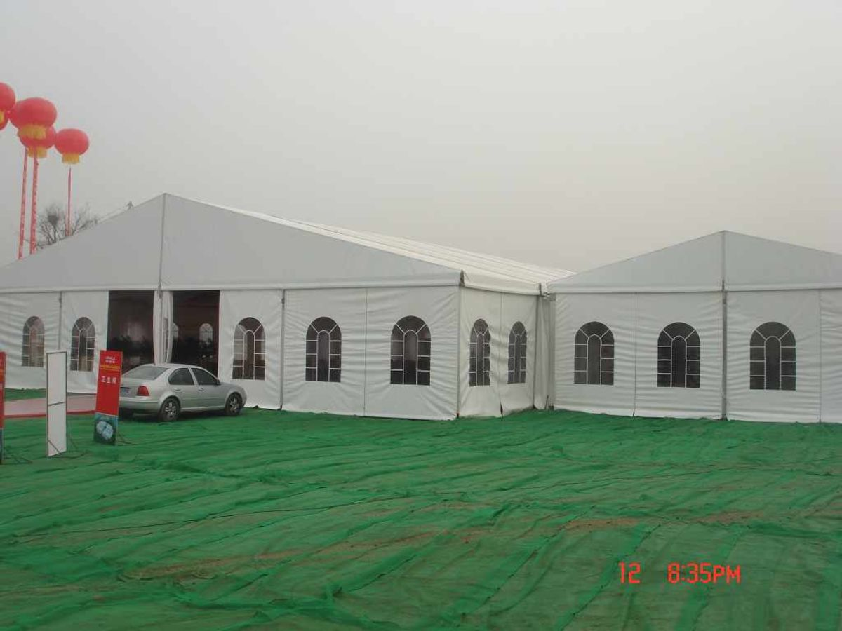 Headline for Outdoor Marquee Tent for Reception