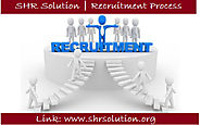 SHR Solution Recruitment Process Gone For Some Changes