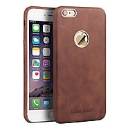 QIALINO Calf Skin Leather Back Case for iPhone 6 - Qialino