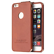 QIALINO Ultra Slim Leather Back Case for iPhone 6 - Qialino