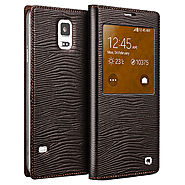 Qialino Lizard Pattern Leather Case For Samsung Galaxy S5 I9600