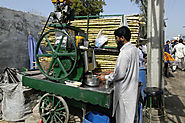 A Road Side Juice Shop