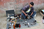 A Shoe repair Shop