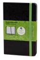 Moleskine Pocket Size Ruled Hard Evernote Notebook - Black