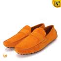 Mens Orange Tods Shoes CW713111 - cwmalls.com