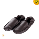 Mens Brown Driving Shoes CW709016 - cwmalls.com