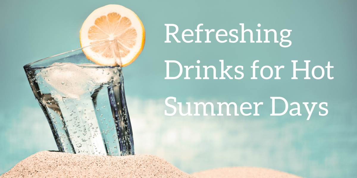 Headline for Refreshing Drinks for Hot Summer Days