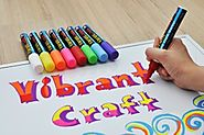 Liquid Chalk Marker Pens With Reversible Tips • Educational Toys