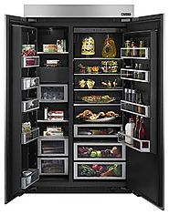 Jenn-Air Unveils New Refrigerator with Charcoal Interior, Theater Lighting