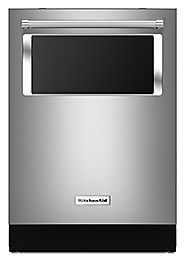 New KitchenAid Dishwasher has Exterior Window