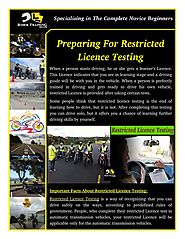 When Should You Apply For Restricted Licence Testing?
