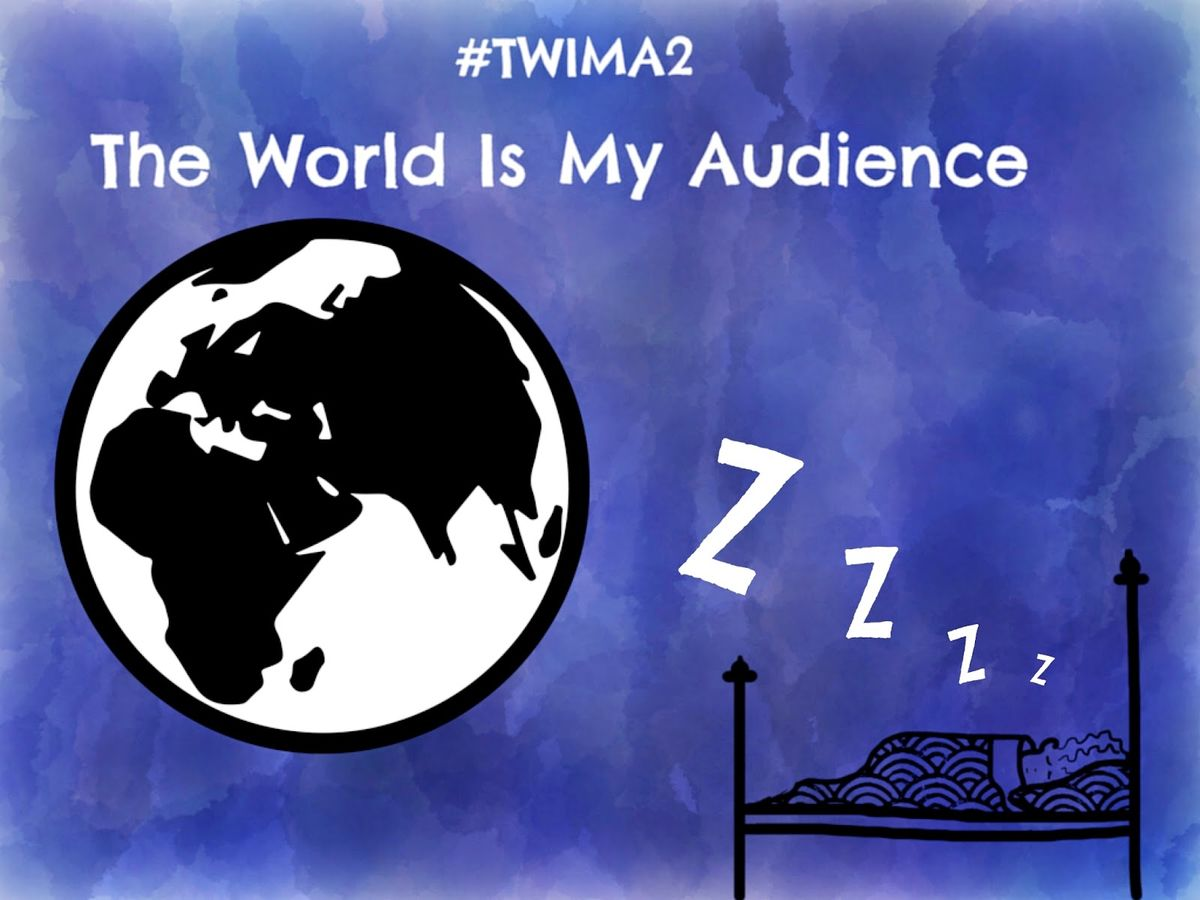 Headline for #twima2 Media for The World is My Audience 2 by #ictclil_urjc