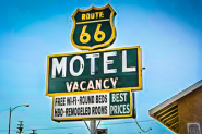 World Famous Route 66 Motel Barstow California USA