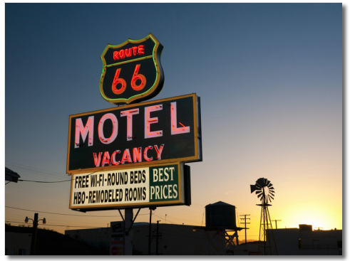 Headline for Route 66
