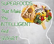 12 Superfoods That Make You Intelligent and Smart