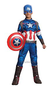 Childs Captain America Costume