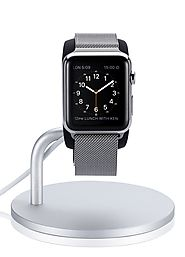 Just Mobile Lounge Dock Aluminum Designer Angle-Adjustable Charging Stand for Apple Watch ($39.99 + FREE Shipping)