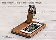 Pad & Quill - The Timber Catchall for Apple Watch (Starts at $99)
