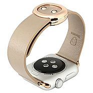 Baseus Modern Simple Series - Genuine Leather Strap Band for Apple Watch