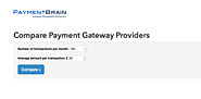 Compare Payment Gateway Providers